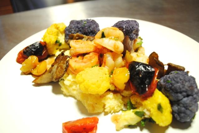 Italian shrimp & polenta